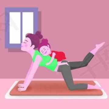 亲子瑜伽视频课程 助你瘦身塑形