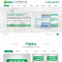 工业硫酸钠化学用品类营销型企业网站源码 模板