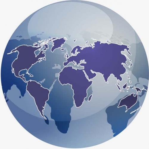 逼真实地球3d全景图模型下载