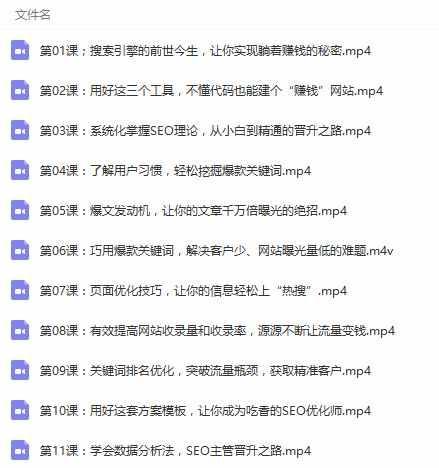 网站seo优化推广 seo技术学习培训班教学课程