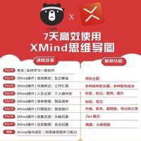 XMind思维导图教程 XMind怎么用 零基础入门