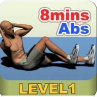 每天8分钟腹肌锻炼视频 初/中/高级八分钟腹肌锻炼图解视频教程 百度云