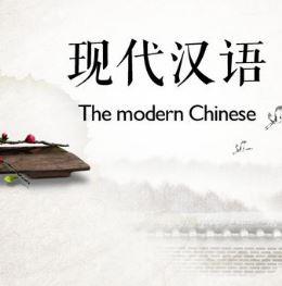 北京大学《现代汉语》教材视频教程 主讲-沈阳 全87讲