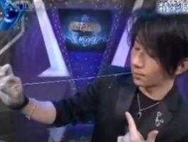 民间魔术吞针引线/穿针引线魔术揭秘 criss angel刘谦的新魔术教学视频